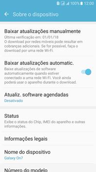 Como encontrar o número de IMEI do seu aparelho - Samsung Galaxy On 7 - Passo 4