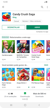 Como baixar aplicativos - Samsung Galaxy A20 - Passo 13