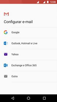 Como configurar seu celular para receber e enviar e-mails - Motorola Moto Z2 Play - Passo 7