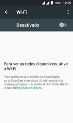 Como configurar uma rede Wi-Fi - Alcatel Pixi 4 - Passo 4