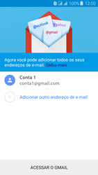 Como configurar seu celular para receber e enviar e-mails - Samsung Galaxy J3 Duos - Passo 16