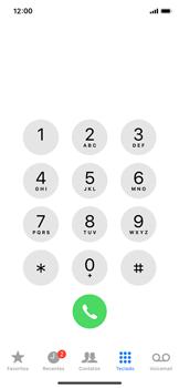 Como bloquear chamadas de um número específico - Apple iPhone X - Passo 3