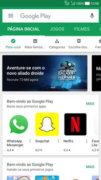 Como baixar aplicativos - Asus Zenfone Selfie - Passo 4