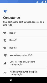 Como ativar seu aparelho - Motorola Moto Z2 Play - Passo 9