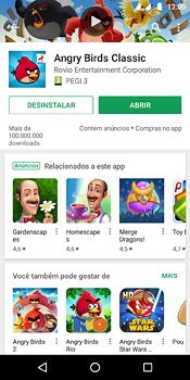 Como baixar aplicativos - Motorola Moto E5 - Passo 16