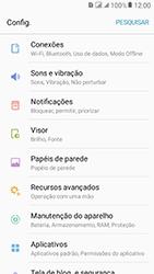 Como selecionar o tipo de rede adequada - Samsung Galaxy J2 Prime - Passo 3