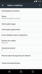 Como encontrar o número de IMEI do seu aparelho - LG Google Nexus 5X - Passo 4
