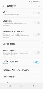 Como configurar a internet do seu aparelho (APN) - Samsung Galaxy S9 - Passo 6