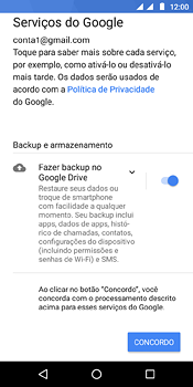 Como configurar seu celular para receber e enviar e-mails - Motorola Moto E5 - Passo 11