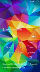 Como ativar seu aparelho - Samsung Galaxy S5 - Passo 2