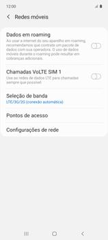 O celular não recebe chamadas - Samsung Galaxy A51 - Passo 7