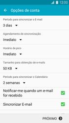 Como configurar seu celular para receber e enviar e-mails - Samsung Galaxy S5 - Passo 7