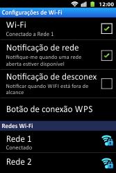 Como configurar uma rede Wi-Fi - Huawei U8667 - Passo 9