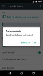 Como ativar e desativar uma rede de dados - Motorola Moto G5 Plus - Passo 5