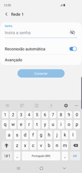 Como configurar uma rede Wi-Fi - Samsung Galaxy S10 - Passo 7
