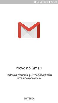 Como configurar seu celular para receber e enviar e-mails - Samsung Galaxy On 7 - Passo 6