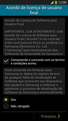 Como configurar pela primeira vez - Samsung Galaxy S IV - Passo 5