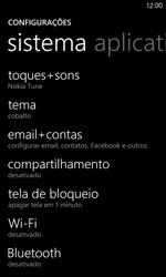 Como configurar seu celular para receber e enviar e-mails - Nokia Lumia 920 - Passo 4