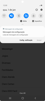 Como conectar à internet - Samsung Galaxy Note 20 5G - Passo 19