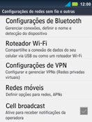 Como configurar a internet do seu aparelho (APN) - Motorola Master - Passo 4