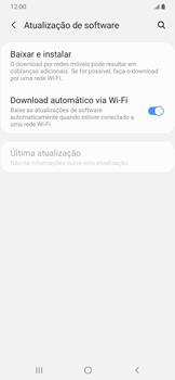 Como atualizar o software do seu aparelho - Samsung Galaxy A20 - Passo 5