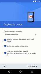 Como configurar seu celular para receber e enviar e-mails - LG Google Nexus 5X - Passo 25