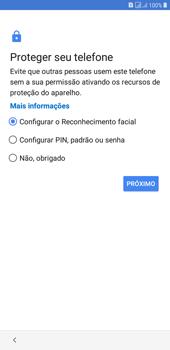 Como configurar pela primeira vez - Samsung Galaxy J4+ - Passo 12