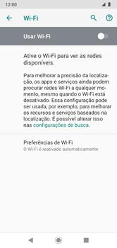 Como configurar uma rede Wi-Fi - Motorola Moto G7 Power - Passo 5