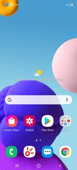 O celular não recebe chamadas - Samsung Galaxy A21s - Passo 1