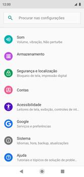 Como encontrar o número de IMEI do seu aparelho - Motorola Moto G7 Play - Passo 3