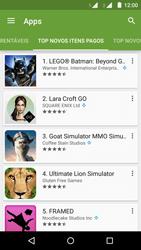 Como baixar aplicativos - Motorola Moto G (2ª Geração) - Passo 10