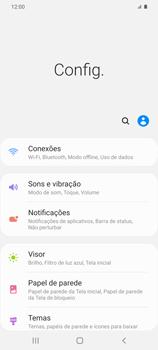 Como ativar e desativar o roaming de dados - Samsung Galaxy S20 Plus 5G - Passo 3