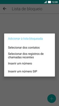Como bloquear chamadas de um número específico - Asus ZenFone 3 - Passo 9