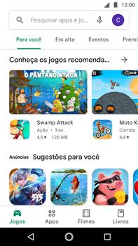Como baixar aplicativos - Motorola Moto G5s Plus - Passo 4