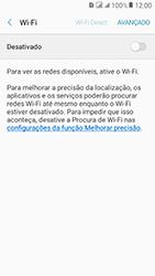 Como configurar uma rede Wi-Fi - Samsung Galaxy J2 Prime - Passo 5