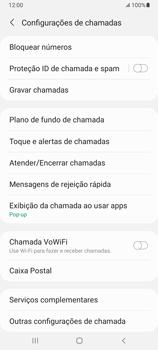 Como bloquear chamadas de um número específico - Samsung Galaxy A32 5G - Passo 7