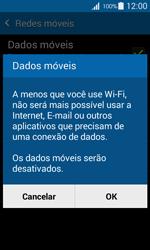 Como ativar e desativar uma rede de dados - Samsung Galaxy Ace 4 - Passo 6