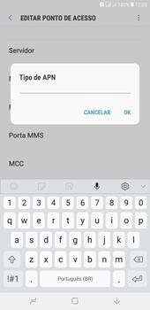 Como configurar a internet do seu aparelho (APN) - Samsung Galaxy J4+ - Passo 13