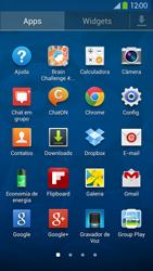 Como configurar seu celular para receber e enviar e-mails - Samsung Galaxy S IV - Passo 2