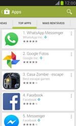Como baixar aplicativos - Samsung Galaxy S III Mini - Passo 8