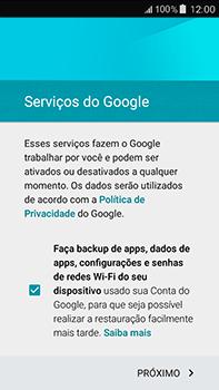 Como configurar seu celular para receber e enviar e-mails - Samsung Galaxy J7 - Passo 15