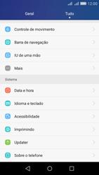 Como encontrar o número de IMEI do seu aparelho - Huawei Y6 - Passo 2