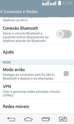 Como configurar a internet do seu aparelho (APN) - LG G2 Lite - Passo 7