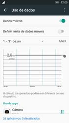 Como ativar e desativar uma rede de dados - Lenovo Vibe K6 - Passo 4