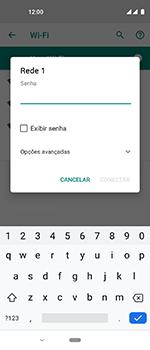 Como configurar uma rede Wi-Fi - Motorola One Vision - Passo 7