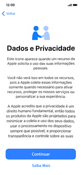 Como configurar pela primeira vez - Apple iPhone 11 Pro - Passo 8