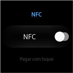 Como ativar a função NFC no Galaxy Watch - Samsung Galaxy Watch 3 - Passo 5