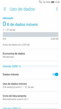 Como ativar e desativar uma rede de dados - Asus Zenfone Selfie - Passo 4