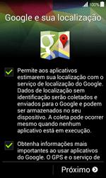 Como configurar pela primeira vez - Samsung Galaxy Ace 4 - Passo 9