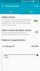 Como ativar e desativar uma rede de dados - Samsung Galaxy J3 Duos - Passo 5